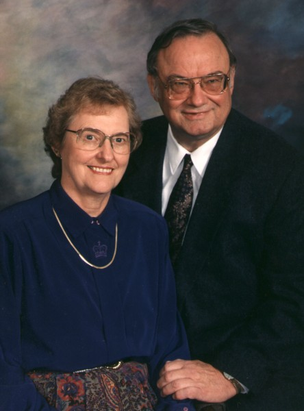 Mary Lou and Gerald in 1996